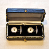 Pearl Cuff Links