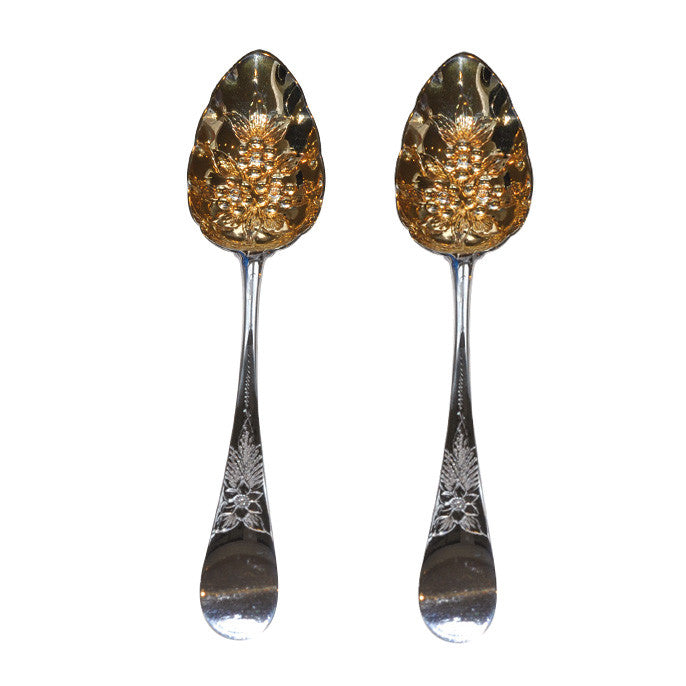 Silver Fruit Spoons
