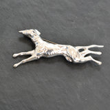 silver greyhound brooch