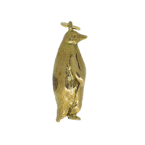 9ct Gold Penguin Charm