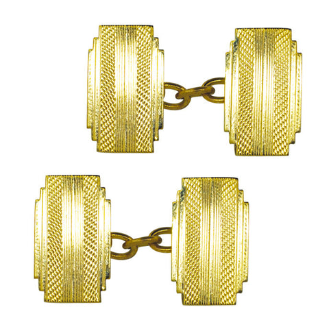 9ct Art Deco Cufflinks
