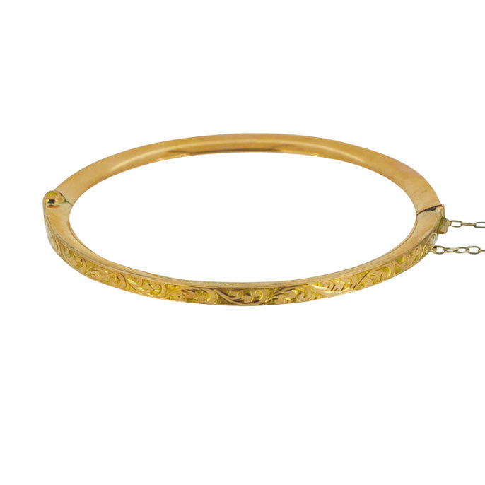 Childs Rose Gold Bangle
