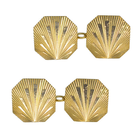 Art Deco Cuff Links