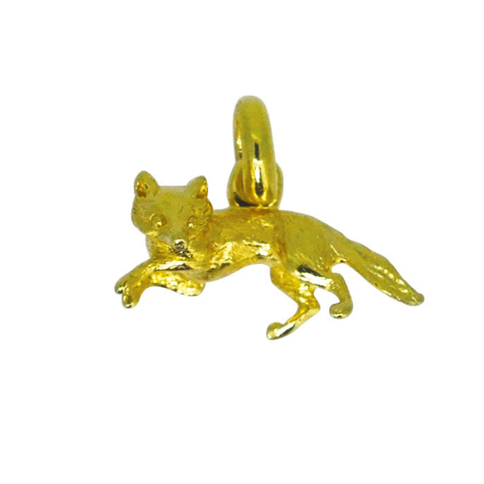 Antique Fox Charm