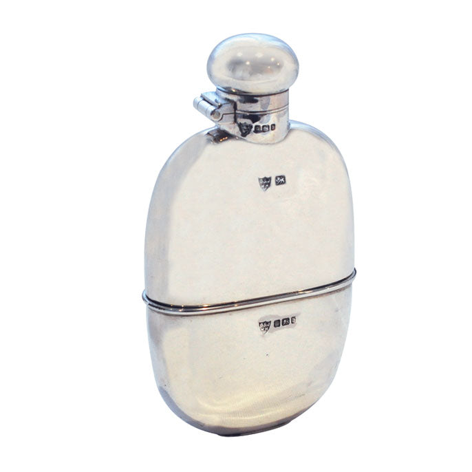 antique hip flask