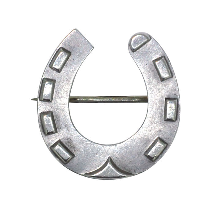 horse shoe brooch