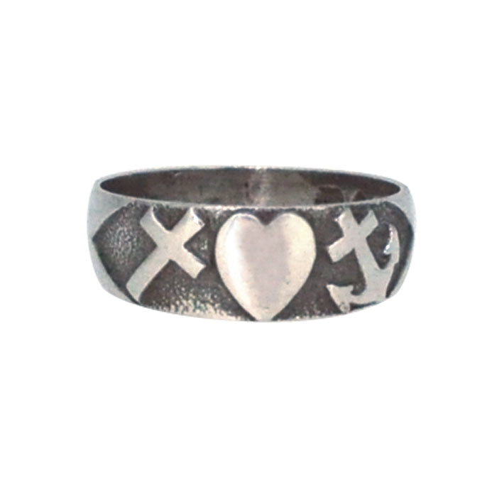 faith hope and charity ring