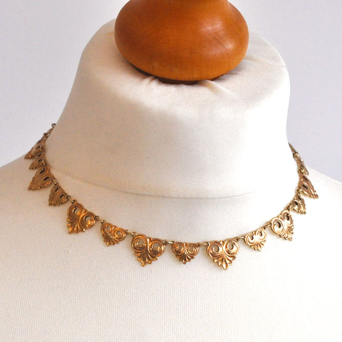 vintage collar necklace