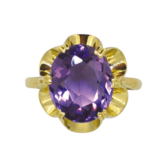 amethyst dress ring