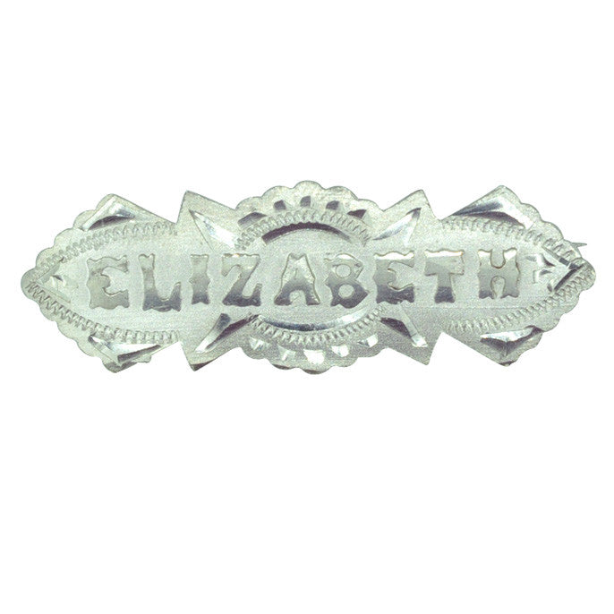Elizabeth Name Brooch