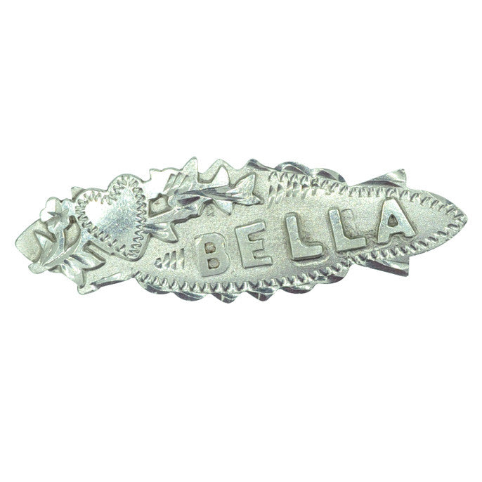 Bella Name Brooch