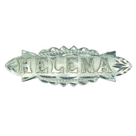 Helena Name Brooch