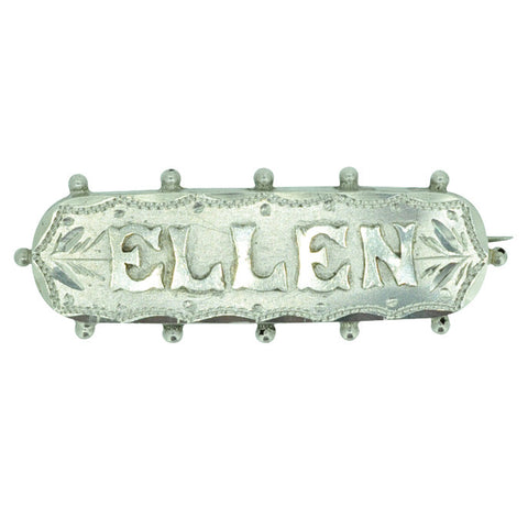 Ellen Name Brooch