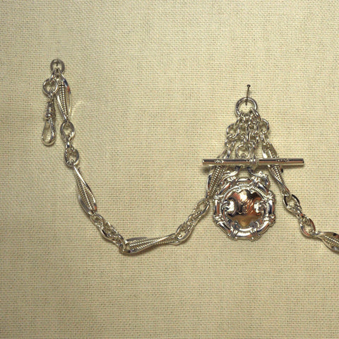 Hallmarked Silver Watch Chain