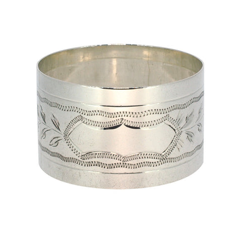 Silver Fancy Napkin Ring