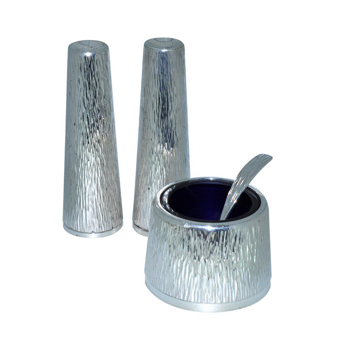 Silver Condiment Set