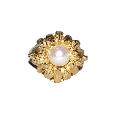 9ct Pearl Dress Ring