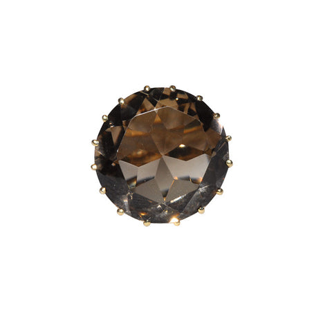 Smokey Quartz Vintage Ring