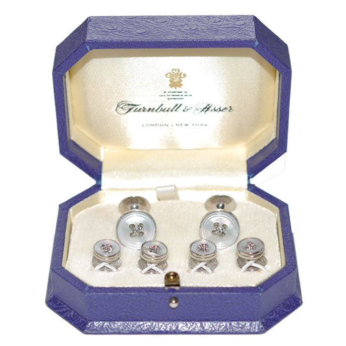 9ct Turnbull & Asser Dress Set