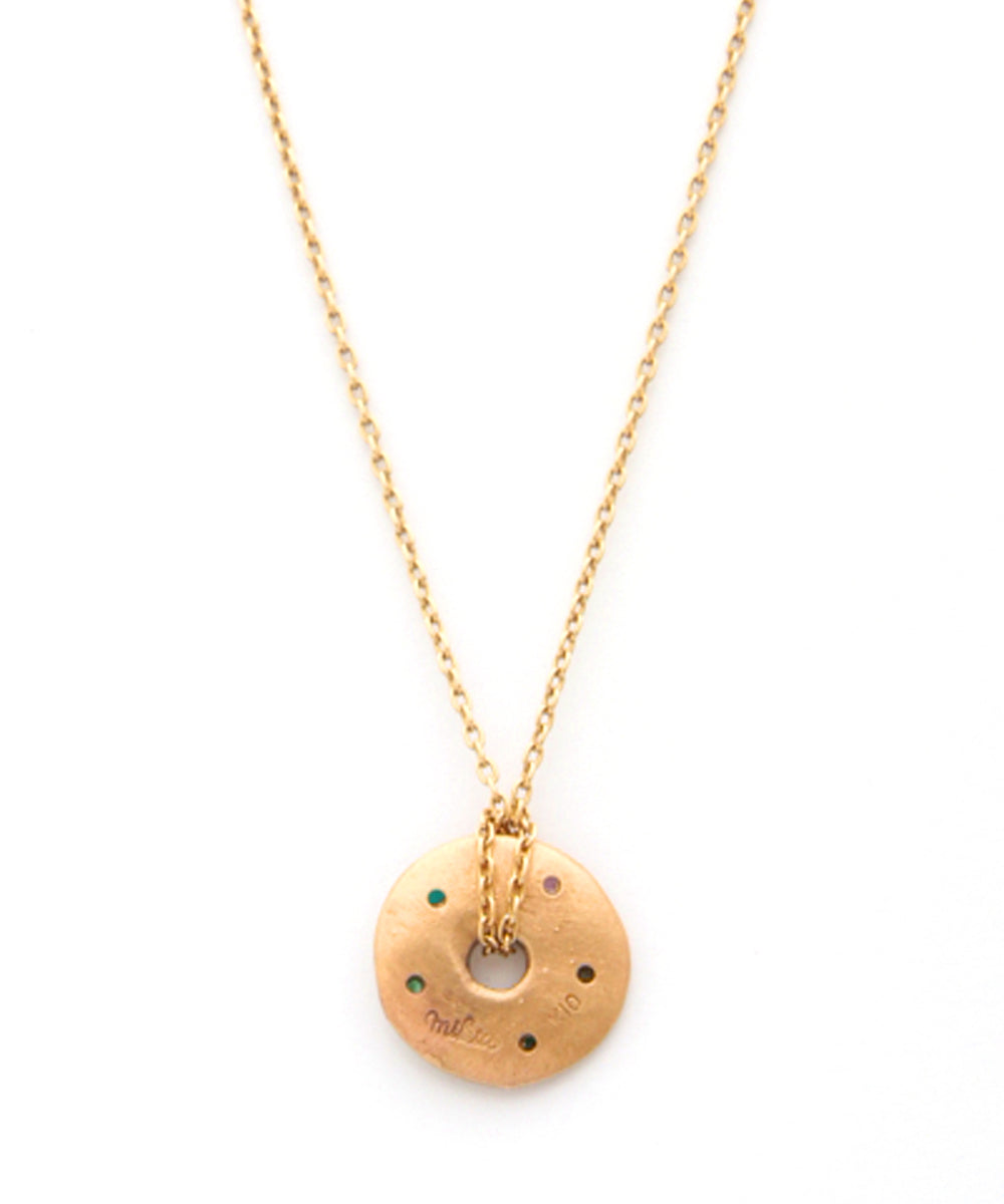 k10 gold s.w.e.e.t necklace