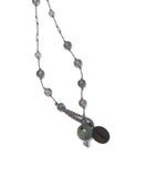 AIYANA labradorite long necklace