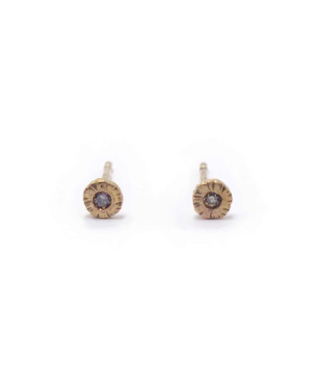 k14 brown diamond pierce