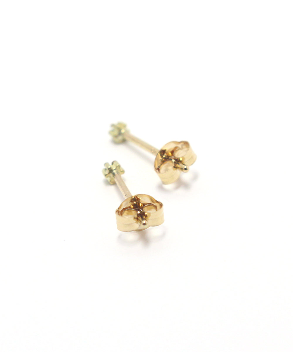 k18 emerald snow flower pierce