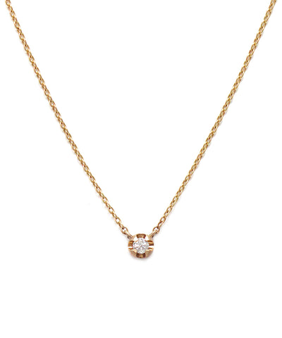 k10 gold / diamond necklace