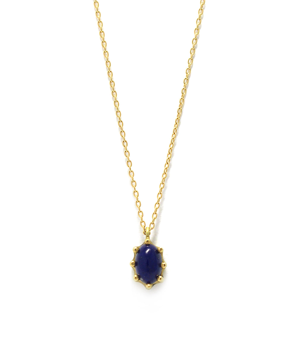 luminis necklace / k18 lapis