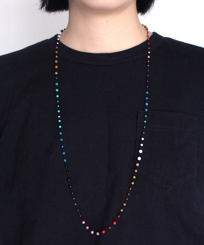 AIYANA rainbow long necklace