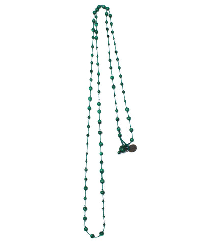 AIYANA malachite necklace