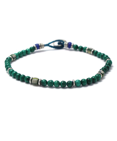 4mm malachite bracelet