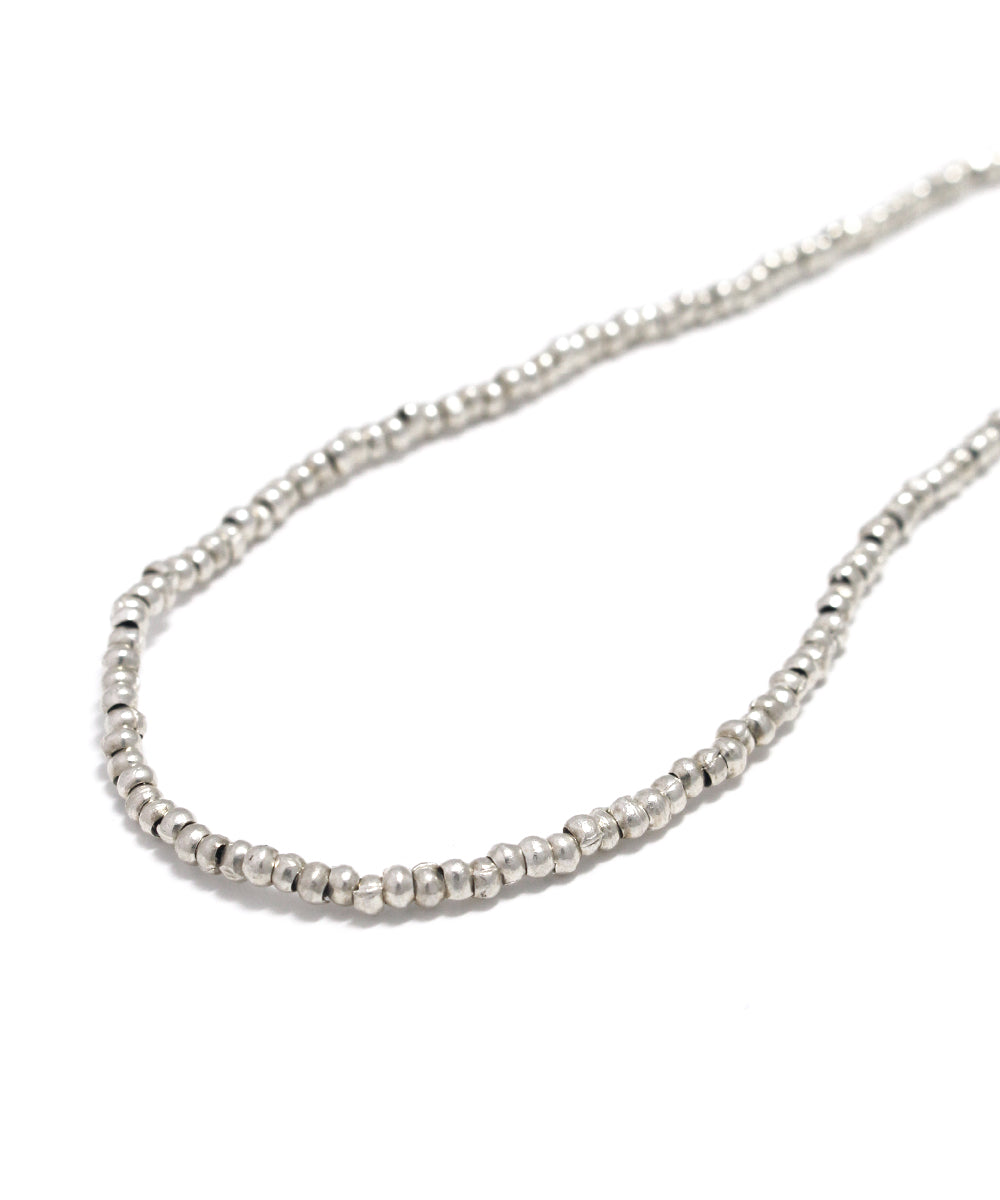 karen silver necklace