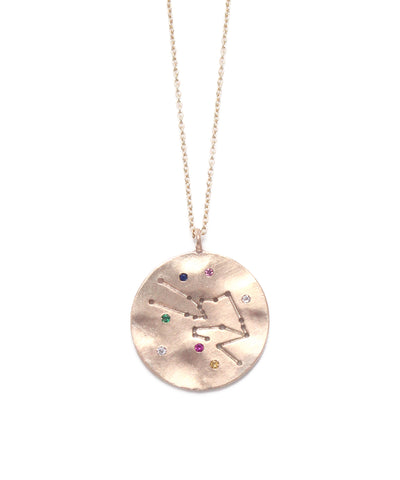 zodiac sign necklace(Taurus)