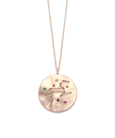 zodiac sign necklace(Leo)