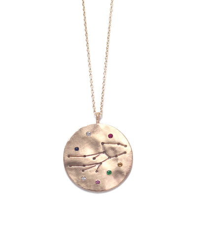 zodiac sign necklace(Virgo)