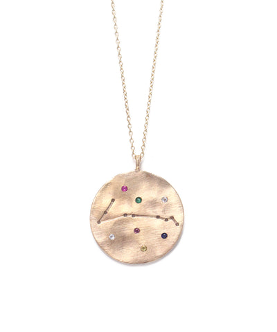 zodiac sign necklace(Pisces)
