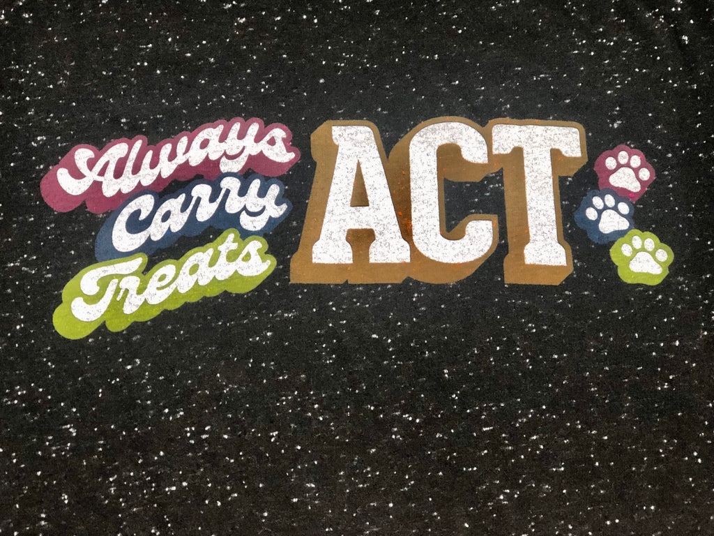 ACT - Always Carry Treats Vintage-style