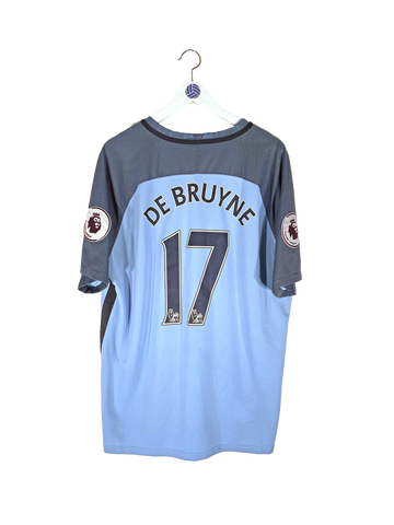 2016/17 Manchester City De Bruyne Home Shirt XL