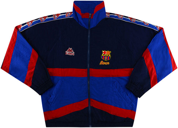 1995-97 Barcelona Kappa Track Jacket (Excellent) M