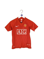 2007/09 Manchester United Ronaldo Home Shirt Kids S