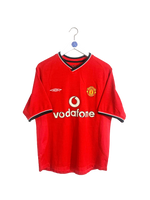 2000/02 Manchester United Giggs Home Shirt S
