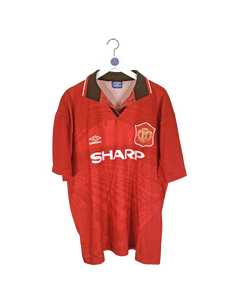 1994/96 Manchester United Home Shirt XL