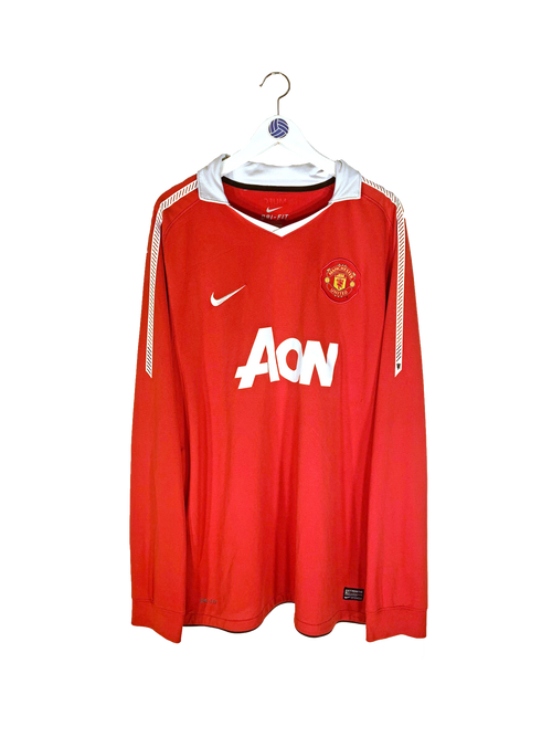 2010/11 Manchester United Evra Home Shirt XL