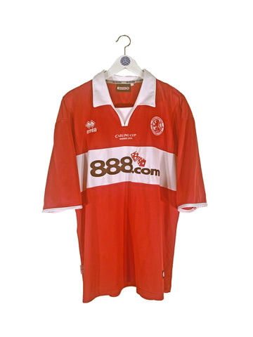 2004 Middlesbrough Carling Cup Winners Home Shirt L