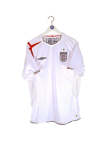 2005/07 England Home Shirt M