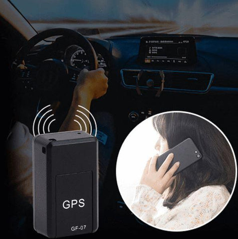 Tracker Mini Portable Real Time Personal and Vehicle GPS Tracker with Strong Magnet Perfect for Tracking Vehicles Teens Spouses Elderly Persons or Assets