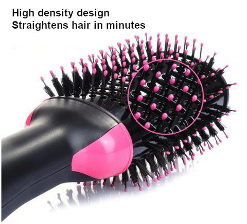 Hot Air Brush One-Step 2 in 1 Hair Dryer & Volumizer Multi-functional Salon Negative Ion Hair Straightener & Curly Hair Comb