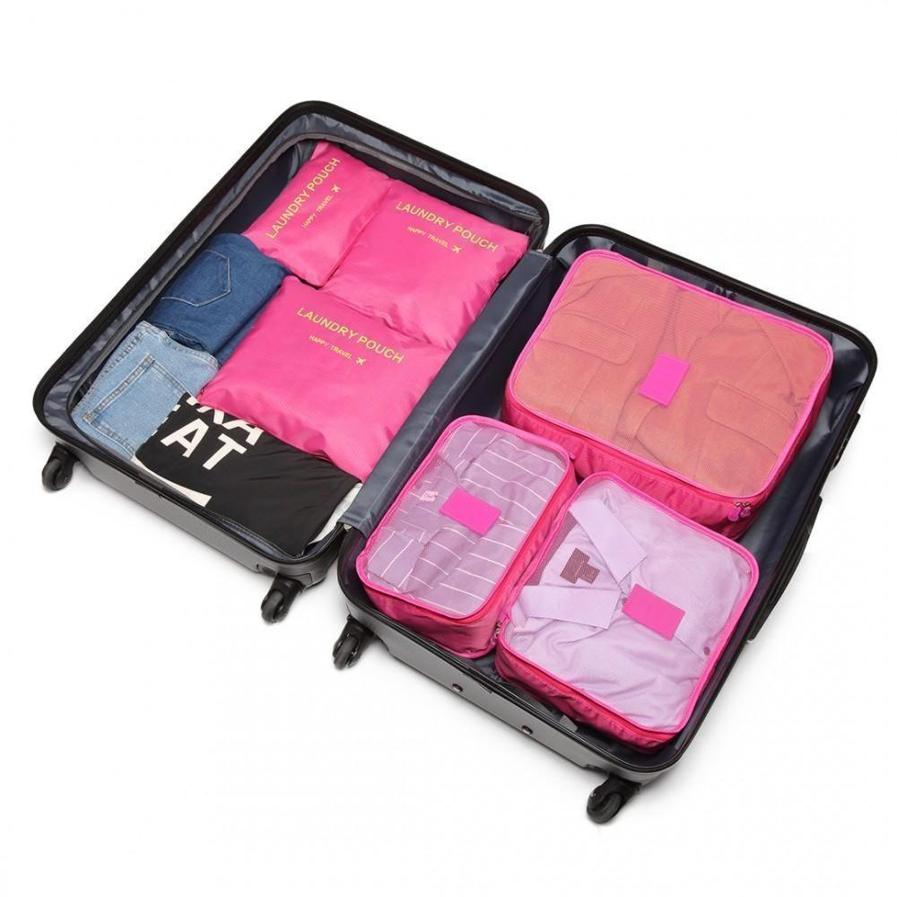 Travel Organiser Luggage Organiser Luggage Compression Pouches Travel Storage Bags Perfect Essentials for Clothes Suitcase Shoes