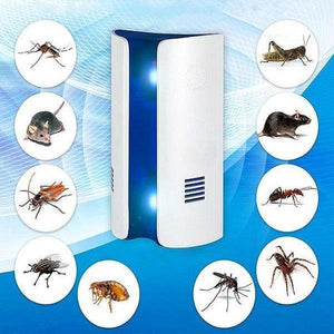 Ultrasonic Electromagnetic Pest Repeller Home Electronic Repeller No Noise Plug In Indoor for Mice Mosquito  Roaches Spider Rodent